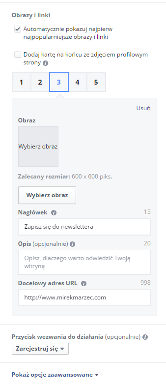 facebook poradnik konfiguracji reklamy