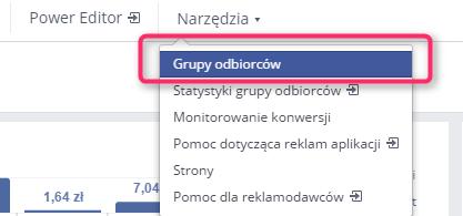 facebook grupy odbiorców